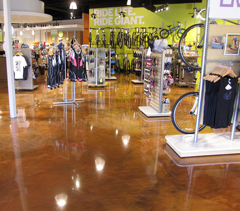 Blackrock Industrial Bike Shop Flooring Solutions