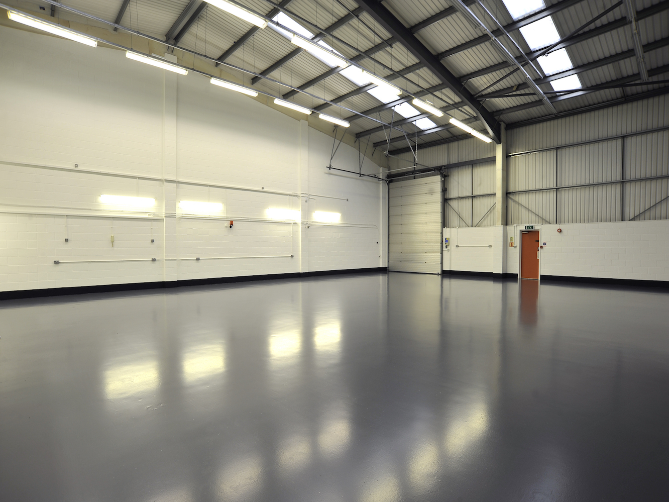 Blackrock Industrial Gray Warehouse Floor