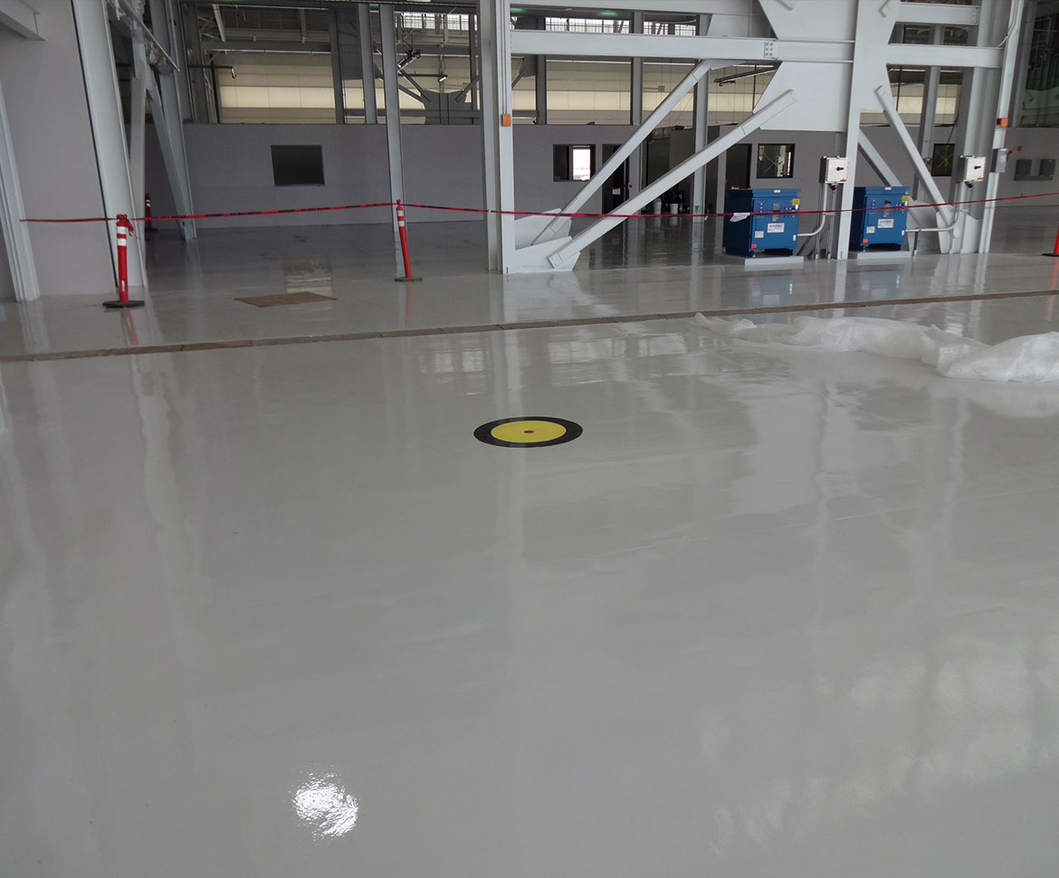 BlackRock Industrial Aerospace Flooring