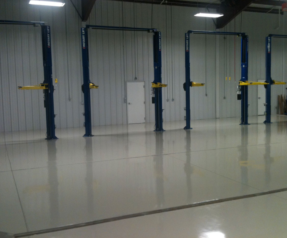 BlackRock Industrial Auto Shop Floor