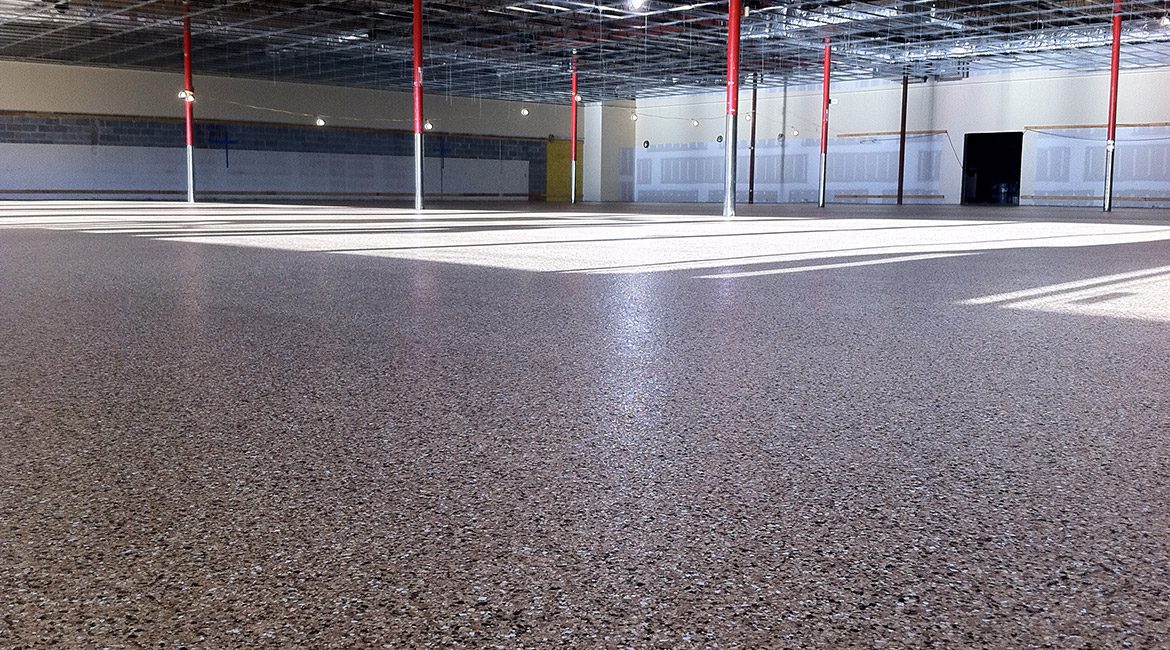 BlackRock Industrial Warehouse Chip Floor