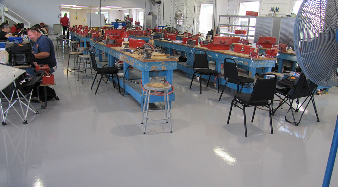 BlackRock Industrial Working Studio Epoxy Coated Floors