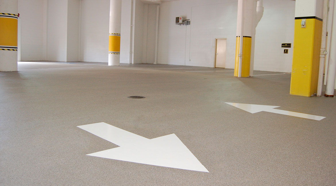 BlackRock Industrial Coating Parking Floors