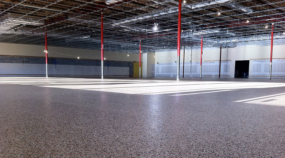 BlackRock Industrial Warehouse Coated Floors