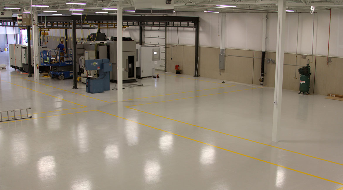 BlackRock Industrial Manufacturer Epoxy Coated Floors