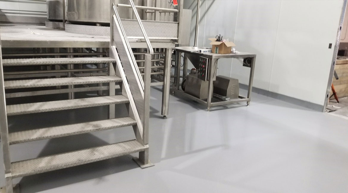 BlackRock Industrial Coating Urethane Floors