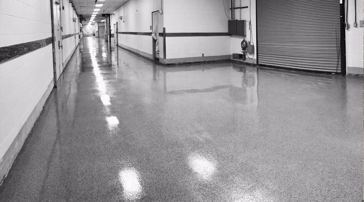 BlackRock Industrial Coating Urethane Floor