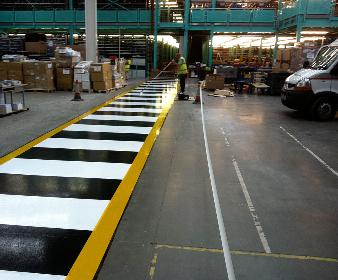 BlackRock Industrial Commercial Warehouse Floor