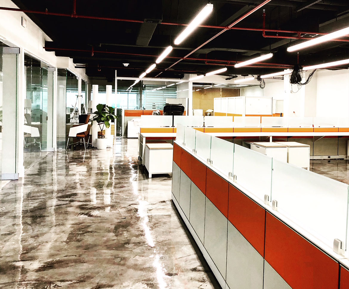 BlackRock Industrial Office Distribution Floor