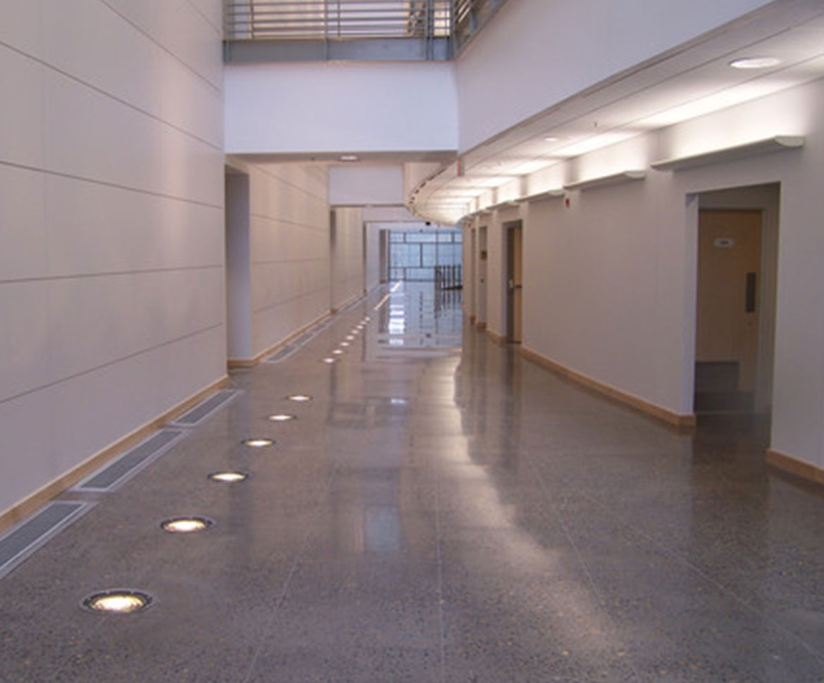 BlackRock Industrial Hallway Flooring
