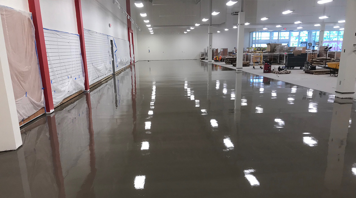 Blackrock Industrial Retail Store Flooring