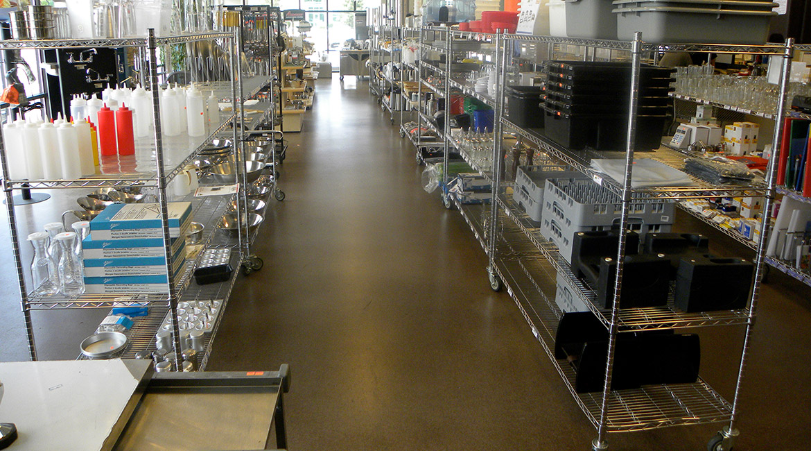 Blackrock Industrial Kitchen Supply Retail Floor