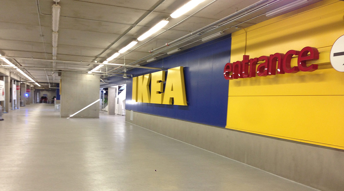 BlackRock Industrial IKEA Flooring