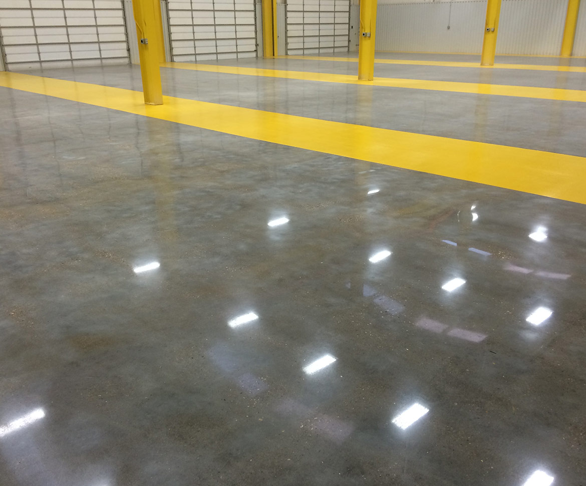 BlackRock Industrial Metallic Commercial Floor