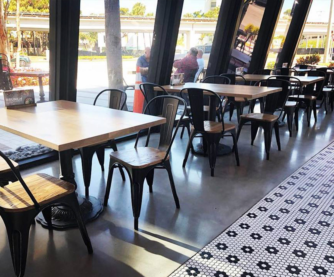 BlackRock Industrial Restaurant Flooring Solution
