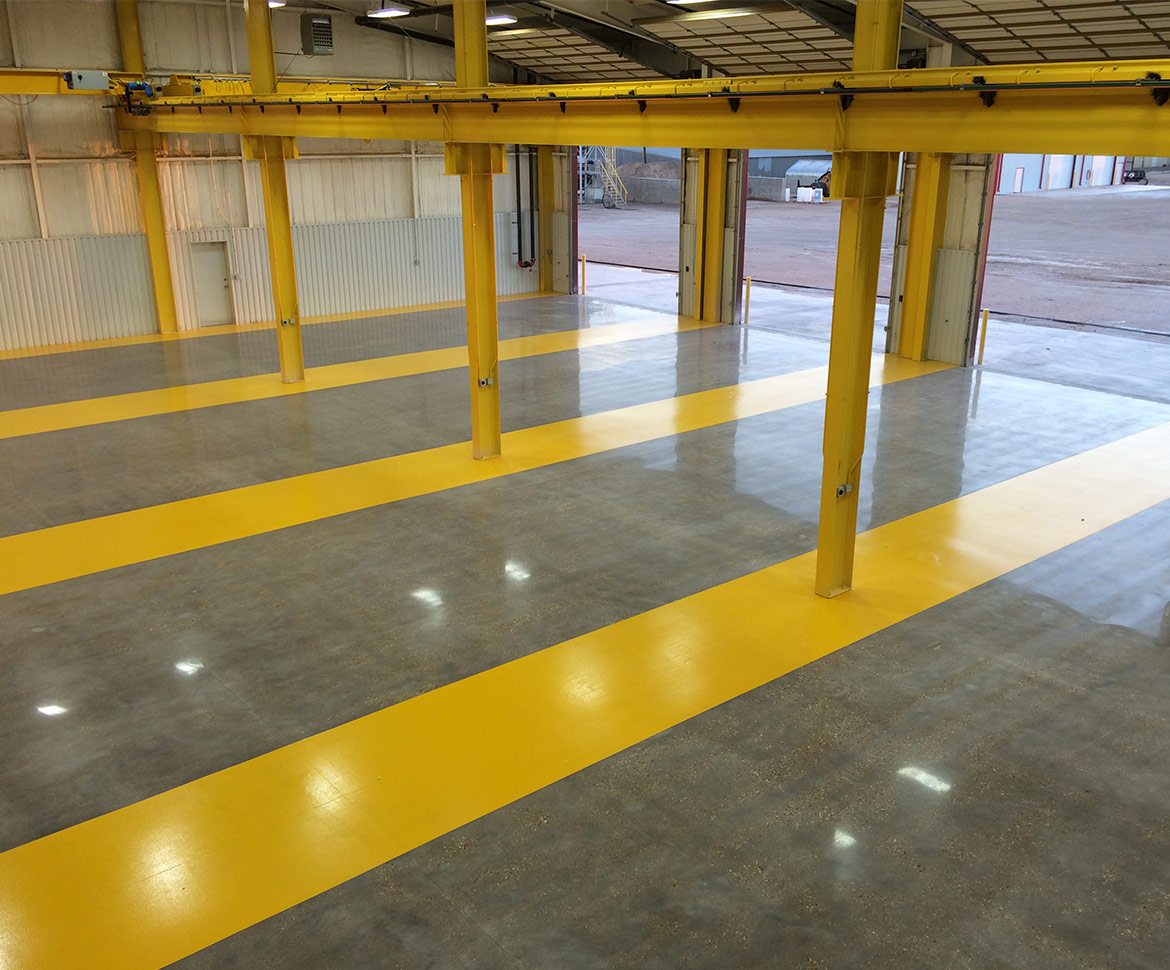 BlackRock Industrial Transportation Garage Floor