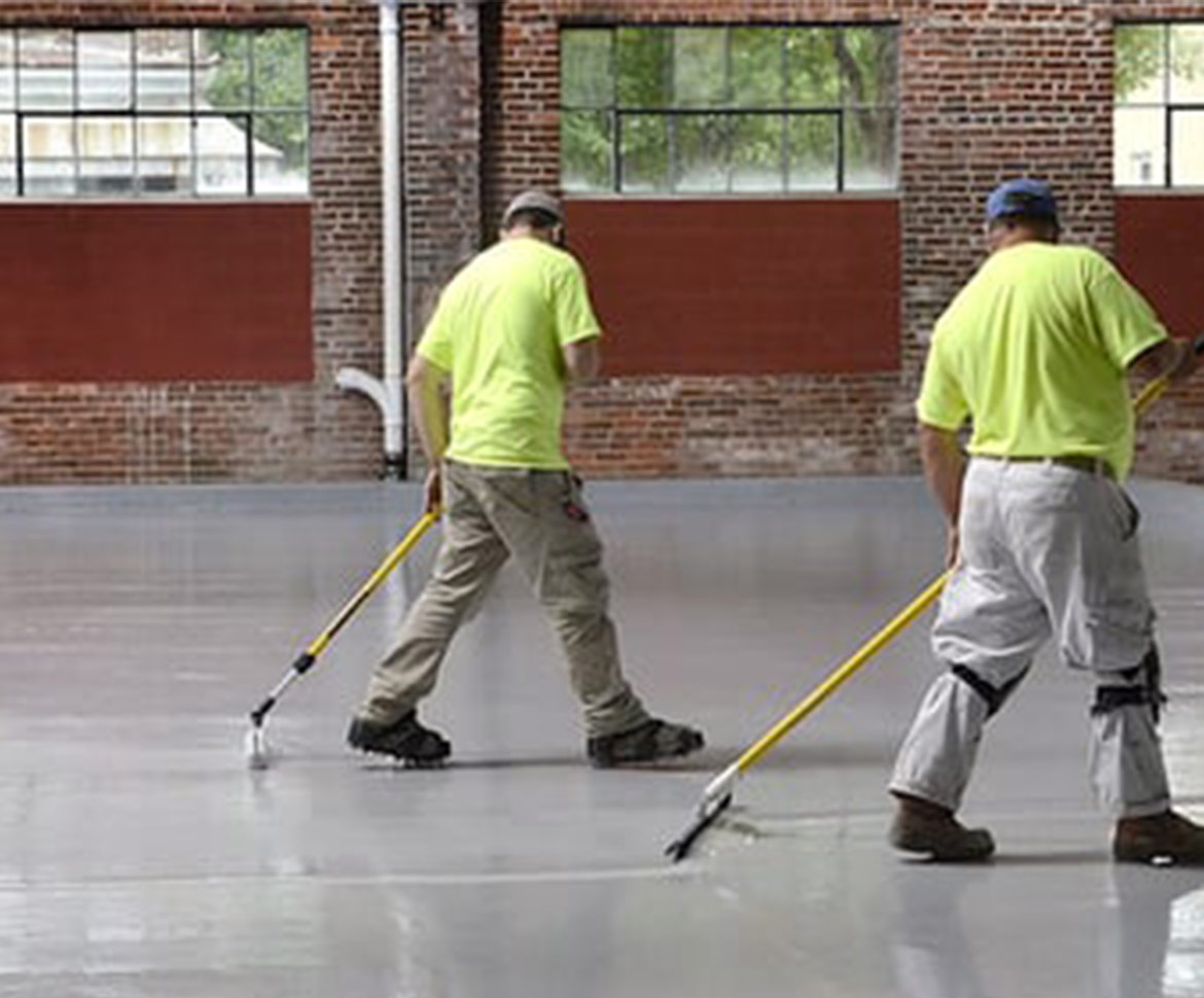 Blackrock Industrial Flooring Employees working