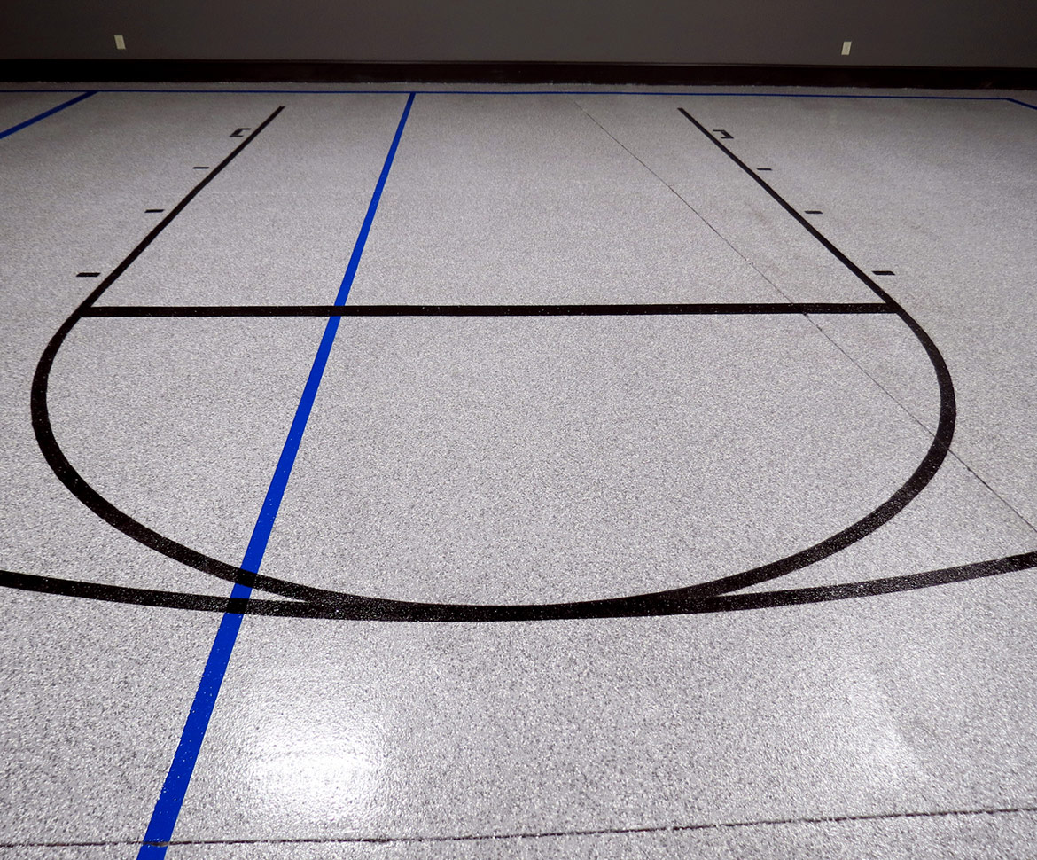 Blackrock Industrial Basketball Court Floors
