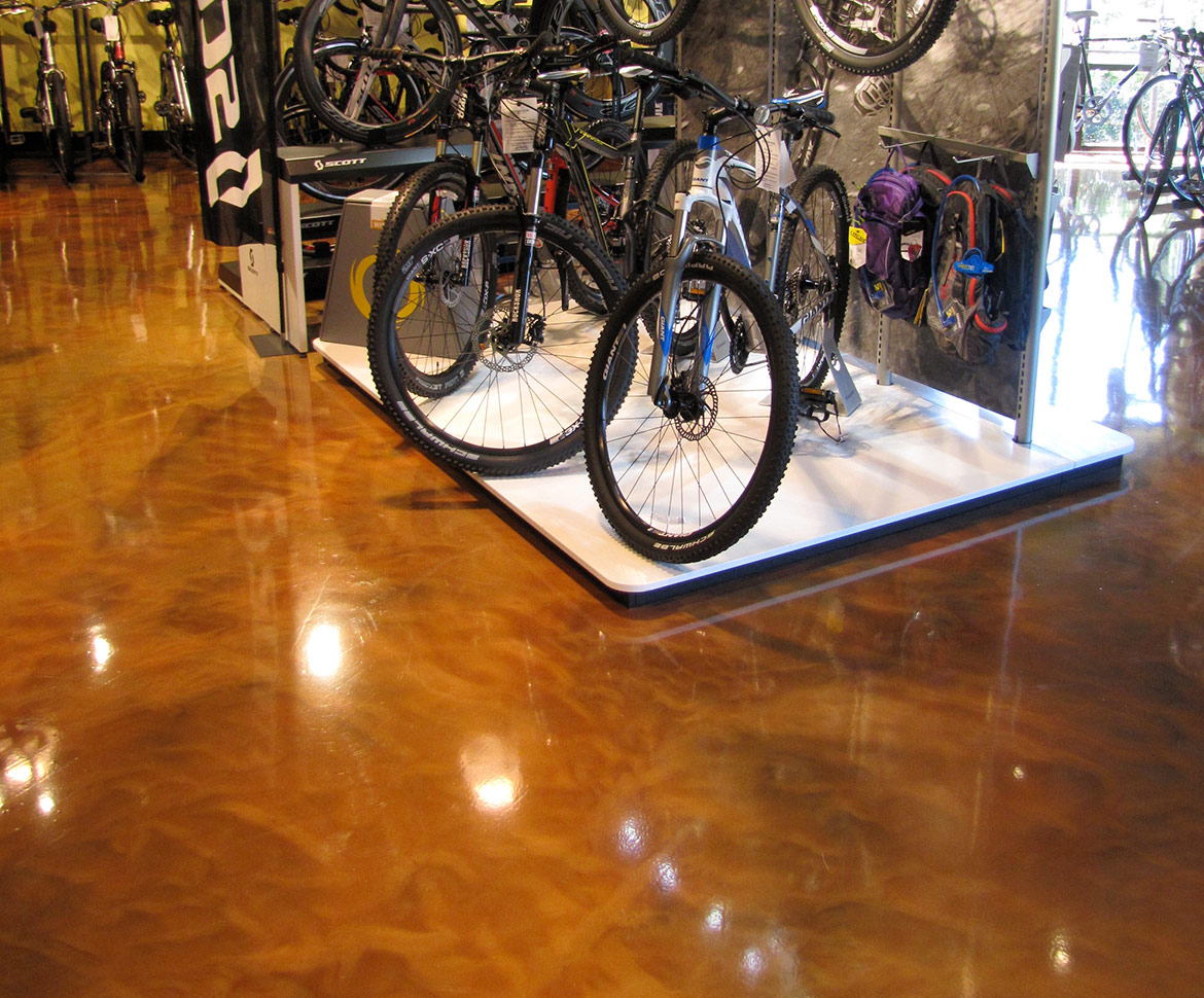 Blackrock Industrial Bike Shop Floor