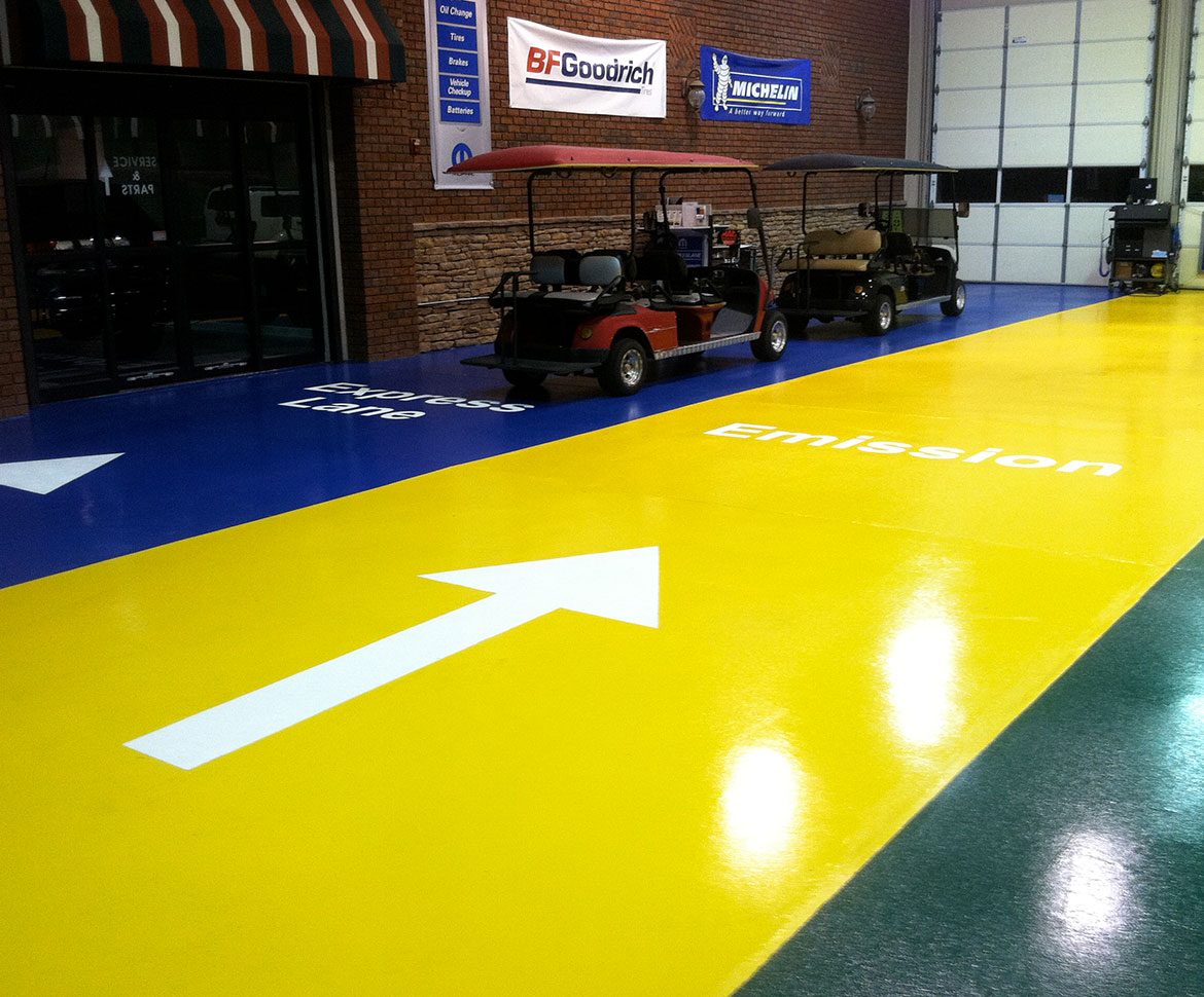 Blackrock Industrial Auto Garage Floor