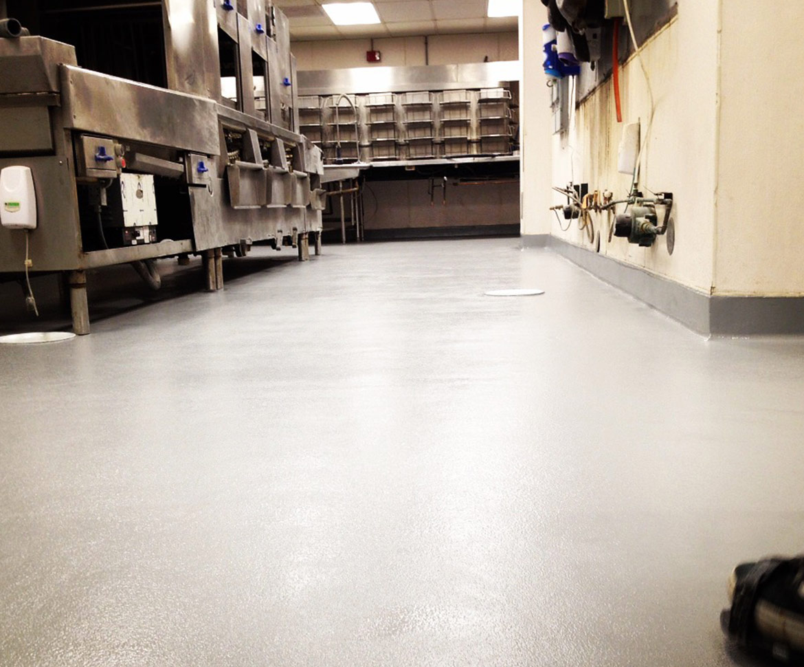 BlackRock Industrial Urethane Floors