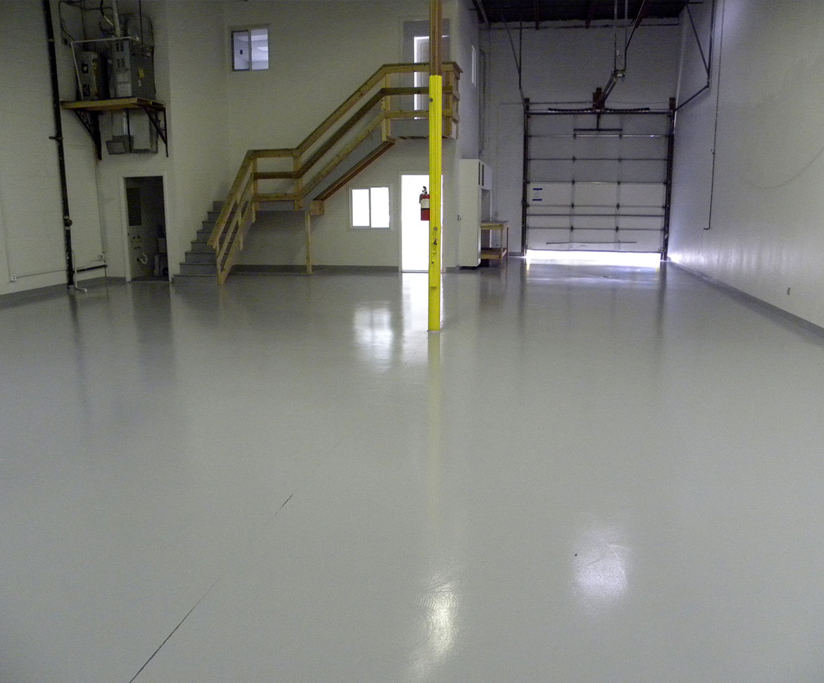 Blackrock Industrial Warehouse Floor