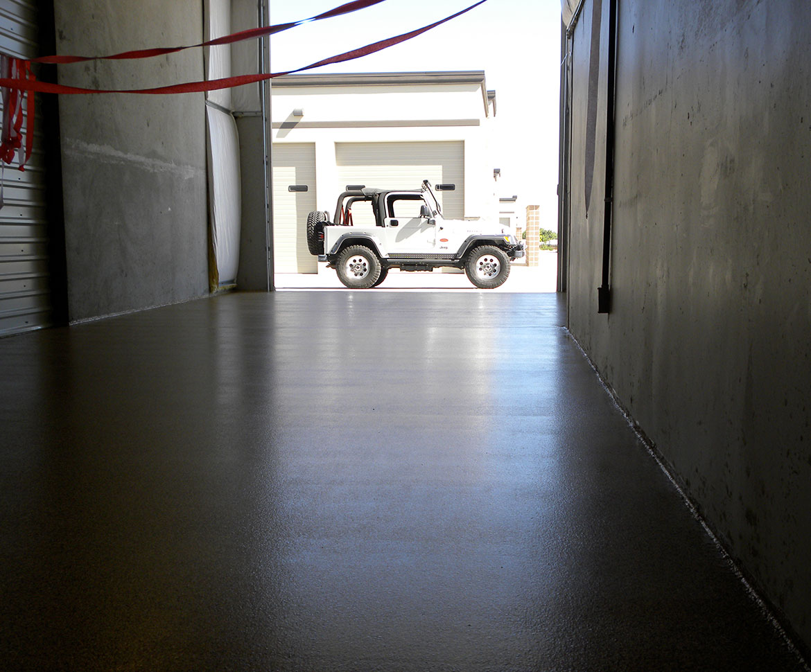 Blackrock Industrial Storage Floor and Jeep