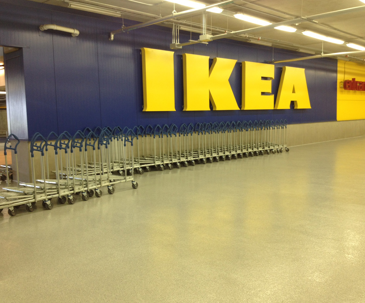 BlackRock Industrial Retail Flooring Solutions Ikea