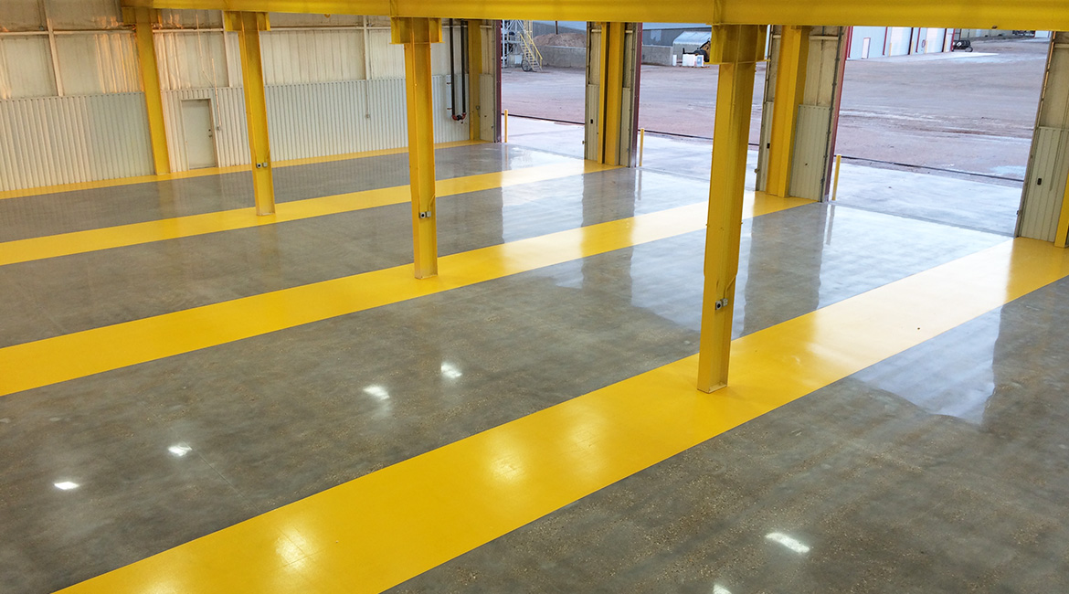 BlackRock Industrial Garage Floor