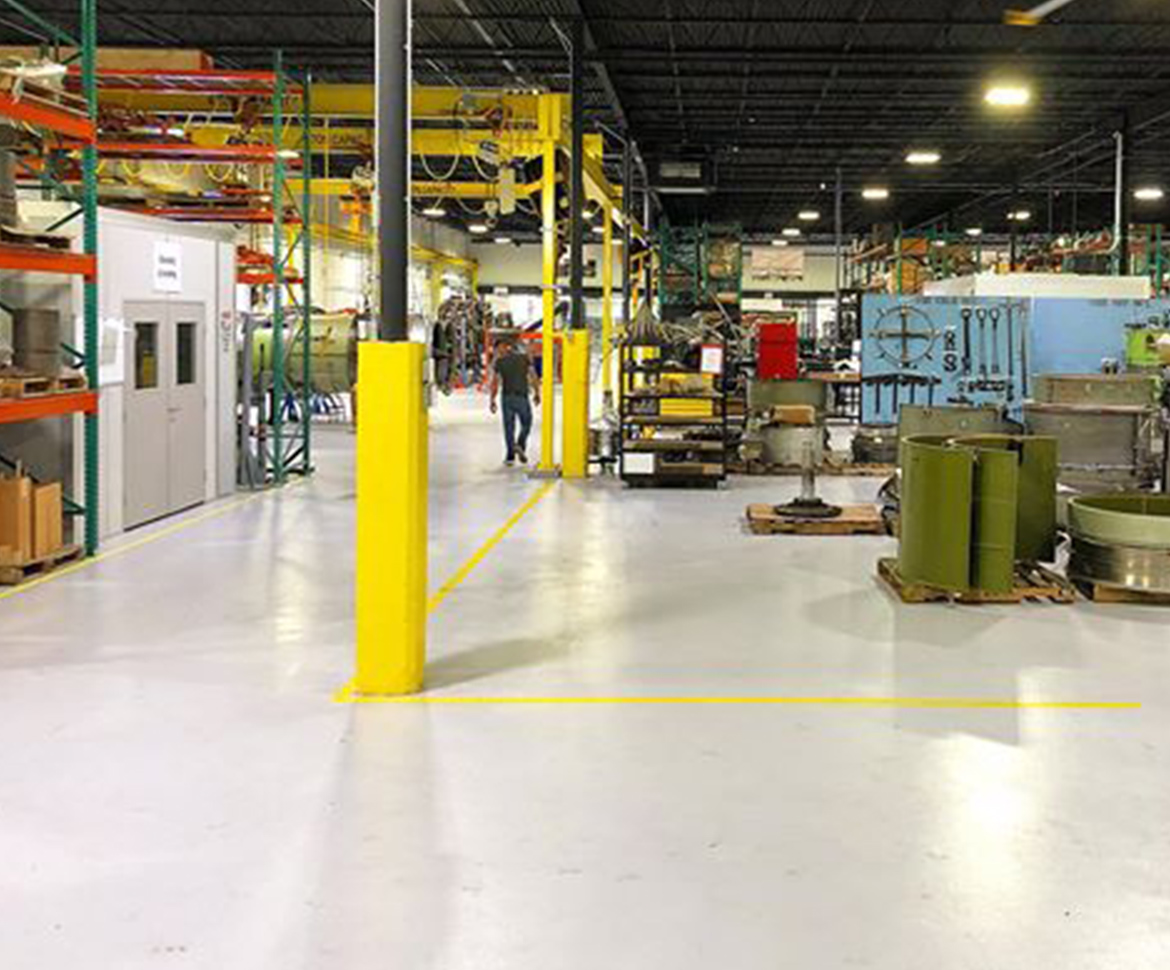 BlackRock Industrial Manufacturing Flooring