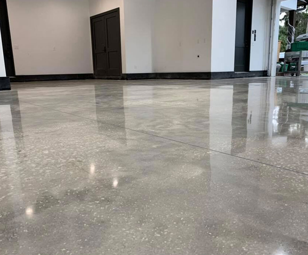 Blackrock Concrete polished floor