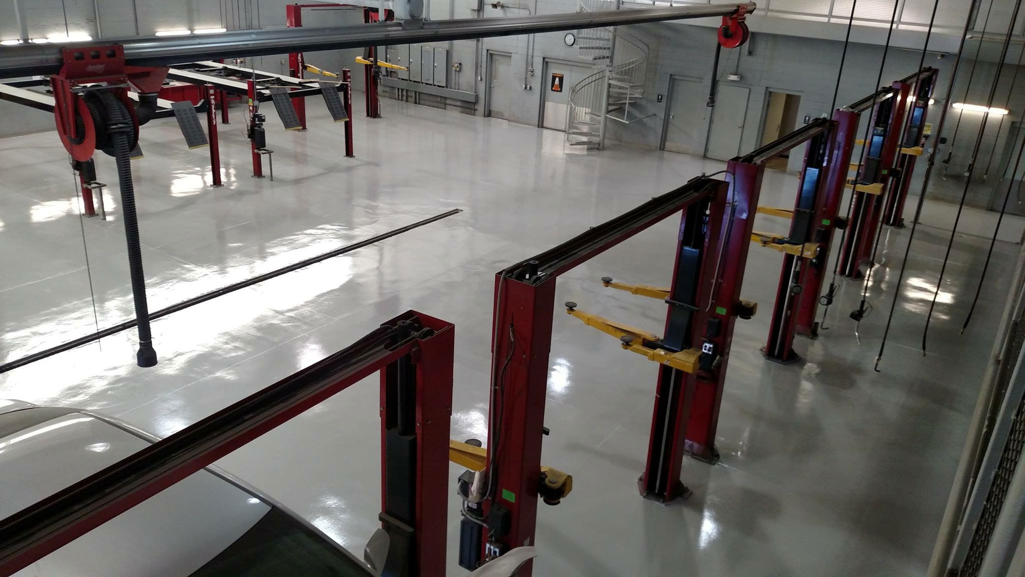 BlackRock warehouse epoxy floor