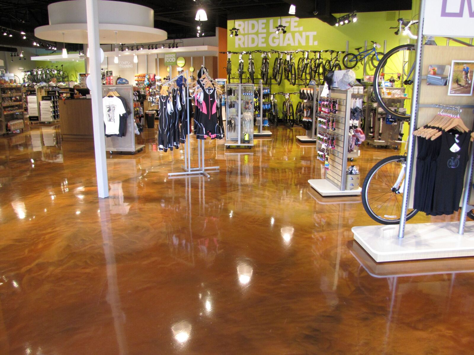 Blackrock seamless floors that shine